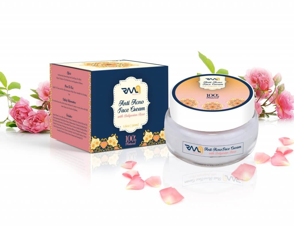 Anti Acne Face Cream with Bulgarian Rose