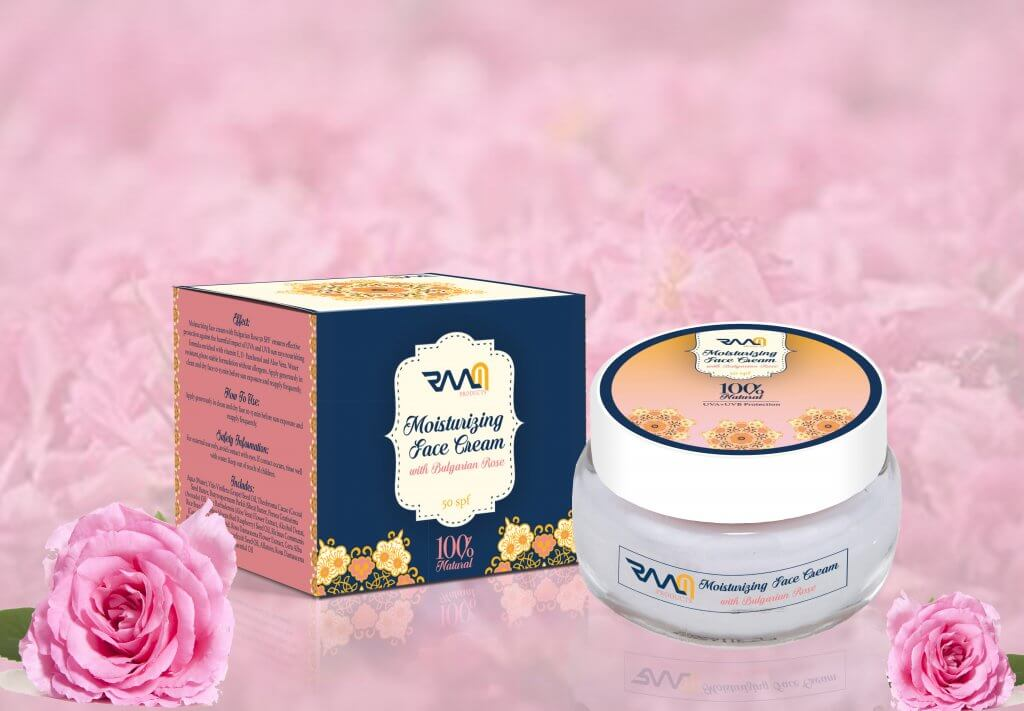 Moisturizing Face Cream with Bulgarian Rose SPF 50